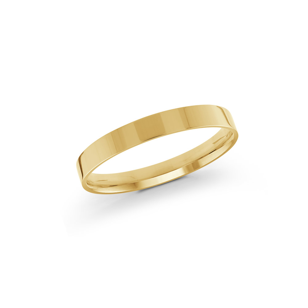 Yellow Gold Men's Ring Size 2mm (J-213-02YG)