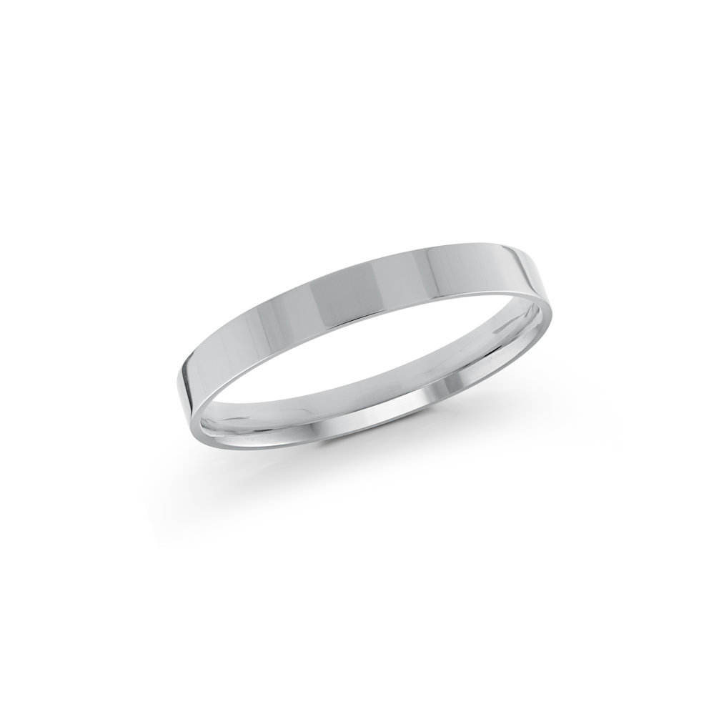White Gold Men's Ring Size 2mm (J-213-02WG)