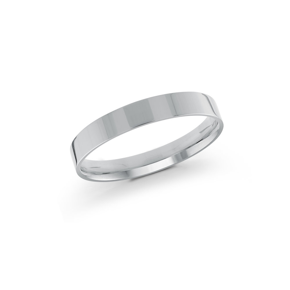 White Gold Men's Ring Size 3mm (J-213-03WG)